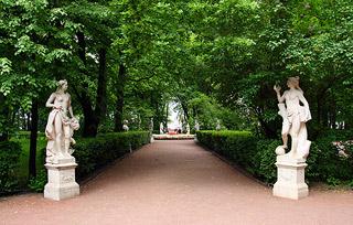 Летний сад в Санкт-Петурбурге